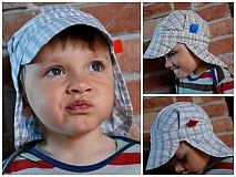 Detské čiapky - ŠILTOFKA s plachtičkou - na objednávku - 3946992_