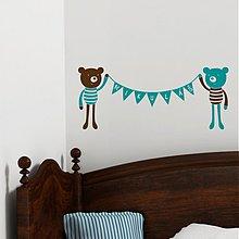 Dekorácie - medvedí duo - 3944165_