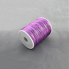 Galantéria - NAV4544, ŠNÚRKA Satén 2mm ORCHIDEA /1m - 3950239_