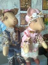 Bábiky - prasiatka vintage - 3948958_