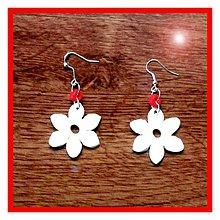 Náušnice - Náušnice kvety NA ZÁKAZKU - 3949692_