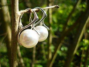 Náušnice - SW perličky 12 - 3952112_