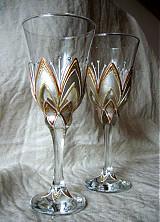 Nádoby - Svadobné poháre - 3953635_