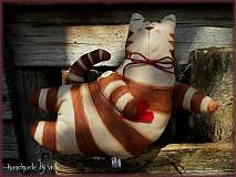 Hračky - Tilda cica - 3954825_