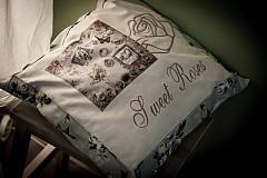 "Úžitkový textil - Vankúšik ""Sweet Roses"" - 3957828_"