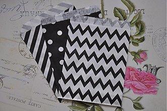 Obalový materiál - papierovy sacok cb trio - 3958467_