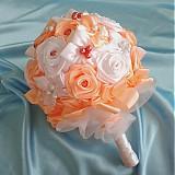 Látková svadobná kytica, rôzne farby