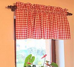 Úžitkový textil - Záves na okno vo vidieckom štýle - 3955272_