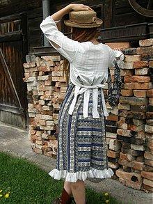 Šaty - šaty z modrej studničky - 3958554_