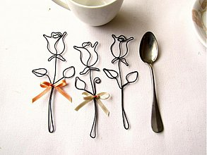 Dekorácie - čajové ruže - 3957752_