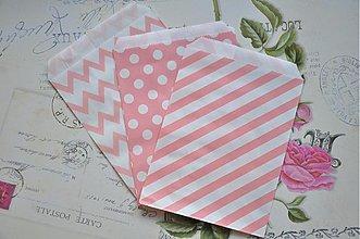 Obalový materiál - papierovy sacok staroruzove trio - 3959031_