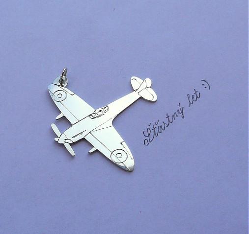 Prívesok lietadlo   IngridPatayova - SAShE.sk - Handmade Šperky 11dcede24cc