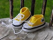 Topánočky - trampky 8- 12 cm - 3962069_