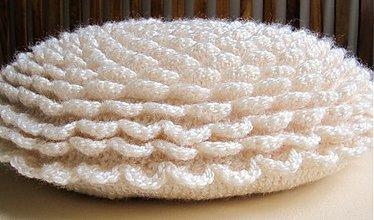 Úžitkový textil - smotanová pochúťka.... - 3959475_