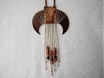 Náhrdelníky - Náhrdelník kožený, divoška - 3959841_