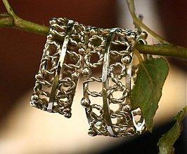 Prstene - podkovička pre šťastie - 3962541_