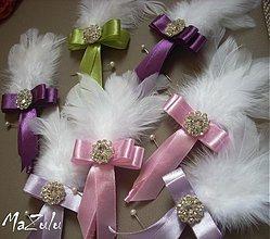 Pierka - svadobné pierka ... - 3963981_