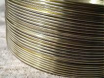 Suroviny - hliníkový drôt 2mm CHAMPAGNE - 3964114_