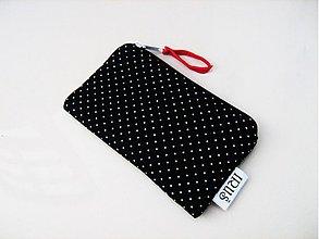 Kľúčenky - Mini Black Dots - klíčenka, peněženčička - 3963029_