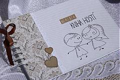 - Svadobná kniha hostí - na želanie - 3966952_