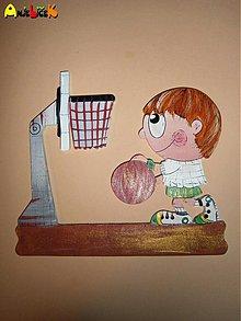 Tabuľky - Menovka - basketbalista - 3972734_