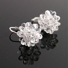 Náušnice - Bublinky crystal - 3971240_