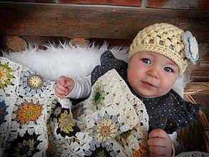 Detské čiapky - Jedna milučká čiapočka... - 3976655_