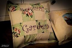 "Úžitkový textil - Vankúšik ""Beautiful Garden"" - 3976353_"