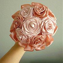 Kytice pre nevestu - Romantická kytička pre družičku, rôzne farby - 3974993_