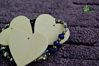 Polotovary - drevený výsek - srdce 3,2x3,15 - 3974158_