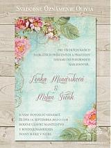 Papiernictvo - Svadobné oznámenie Olivia - 3973671_
