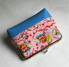 Taštičky - nova ružovomodrá - 3975260_