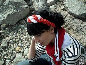 Ozdoby do vlasov - Vôňa Mora - 3976777_