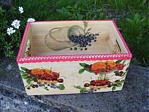 Do kuchyne - bednicka - svieze ovocie - 3977417_
