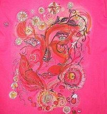 Tričká - Lela kvetinová víla - 3982413_