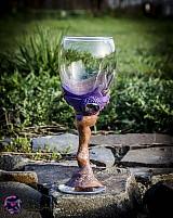Nádoby - Unikátny pohár na víno - 3980229_