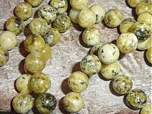 Minerály - Tyrkys žltý 10mm - 3979996_