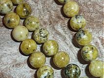 Minerály - Tyrkys žltý 10mm - 3979998_