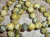 Minerály - Tyrkys žltý 10mm - 3979999_