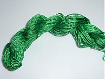 - Nylonová šnúrka 1,0mm Zelená 31 - 3981610_