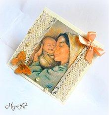 Papiernictvo - Mamičkin úsmev - 3981007_