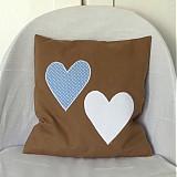 Úžitkový textil - Obliečka Srdce moje belasé - 3982240_