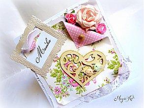 Papiernictvo - Vôňa maminkinej lásky... - 3985911_