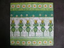 Papier - Servítka - žaby - 3984946_
