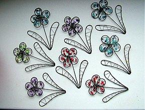 Darčeky pre svadobčanov - kvetinky - 3989449_