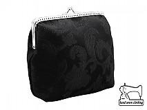 zľava dámská čierná kabelka , taštička 0625