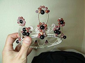 Ozdoby do vlasov - Kráľovská korunka - 3994644_
