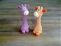Hračky - Zirafule pasikave - na objednavku - 3991596_