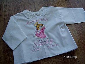 Detské oblečenie - Košieľka na krst - 3994661_