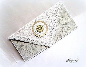 Papiernictvo - Obálka na peniažky